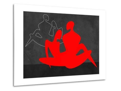 Red Couple 3-Felix Podgurski-Metal Print