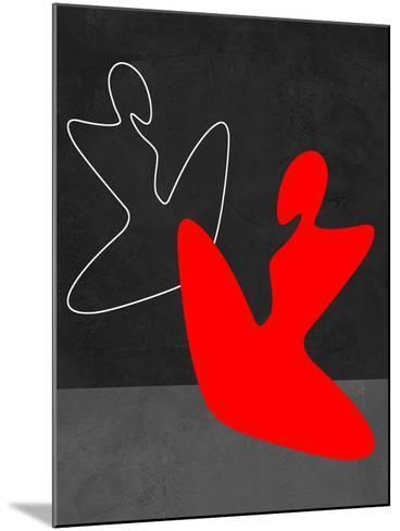 Red Girl 1-Felix Podgurski-Mounted Art Print