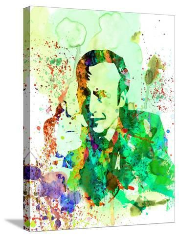 Saul Watercolor-Anna Malkin-Stretched Canvas Print