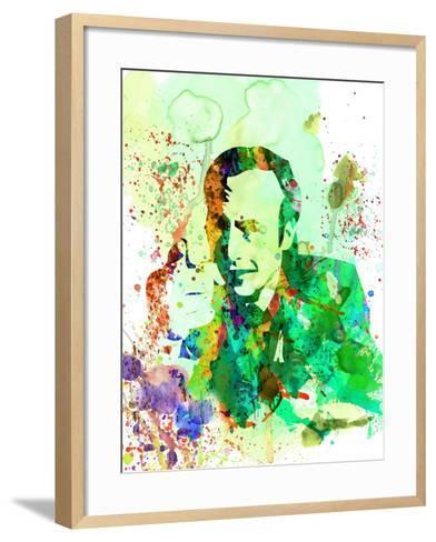 Saul Watercolor-Anna Malkin-Framed Art Print