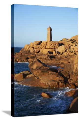 Pointe De Squewel and Mean Ruz Lighthouse-Tuul-Stretched Canvas Print