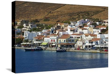 Korissia Harbour, Kea Island, Cyclades, Greek Islands, Greece, Europe-Tuul-Stretched Canvas Print