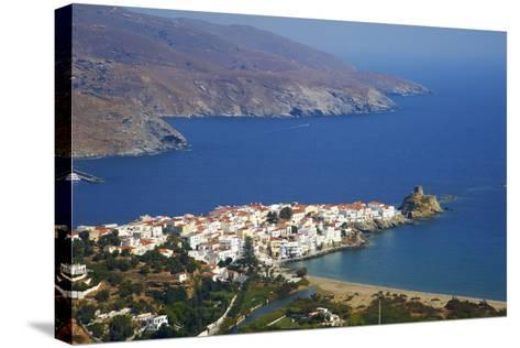 Hora, Andros Island, Cyclades, Greek Islands, Greece, Europe-Tuul-Stretched Canvas Print