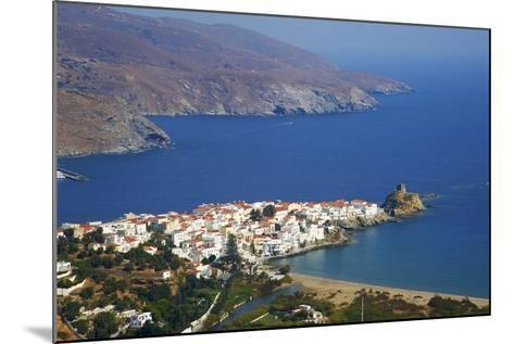Hora, Andros Island, Cyclades, Greek Islands, Greece, Europe-Tuul-Mounted Photographic Print