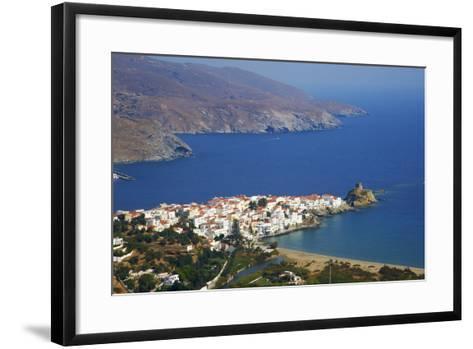 Hora, Andros Island, Cyclades, Greek Islands, Greece, Europe-Tuul-Framed Art Print