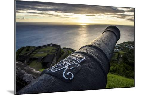 Sunset over Brimstone Hill Fortress-Michael Runkel-Mounted Photographic Print