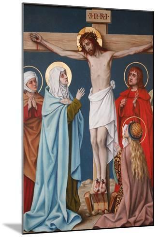 The Crucifixion of Jesus, Holy Blood Basilica, Bruges, West Flanders, Belgium, Europe-Godong-Mounted Photographic Print
