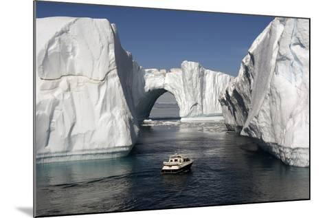Icebergs in Disko Bay-Gabrielle and Michel Therin-Weise-Mounted Photographic Print