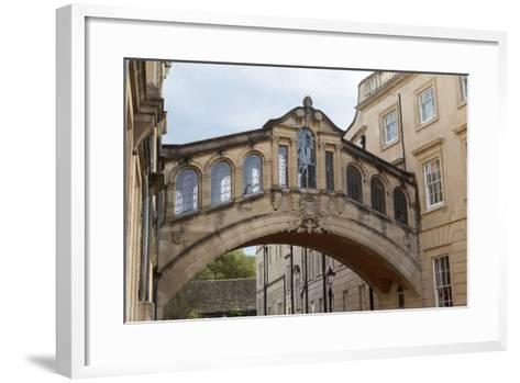 Hertford Bridge (The Bridge of Sighs)-Charlie Harding-Framed Art Print
