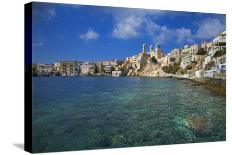 Ermoupoli (Khora), Syros Island, Cyclades, Greek Islands, Greece, Europe-Tuul-Stretched Canvas Print