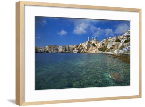 Ermoupoli (Khora), Syros Island, Cyclades, Greek Islands, Greece, Europe-Tuul-Framed Art Print
