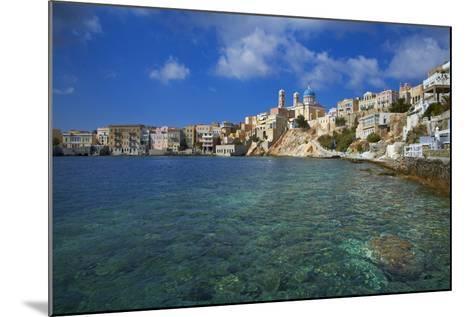 Ermoupoli (Khora), Syros Island, Cyclades, Greek Islands, Greece, Europe-Tuul-Mounted Photographic Print