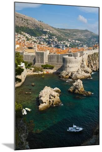 Dubrovnik Old Town and the City Walls-Matthew Williams-Ellis-Mounted Photographic Print
