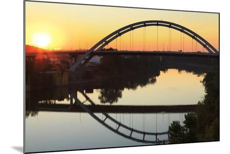 Gateway Bridge over the Cumberland River-Richard Cummins-Mounted Photographic Print