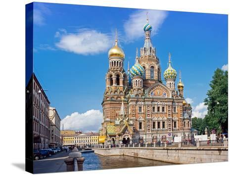 Church on Spilled Blood (Church of the Resurrection)-Gavin Hellier-Stretched Canvas Print