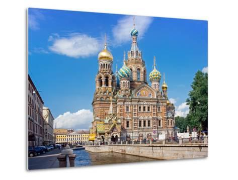 Church on Spilled Blood (Church of the Resurrection)-Gavin Hellier-Metal Print