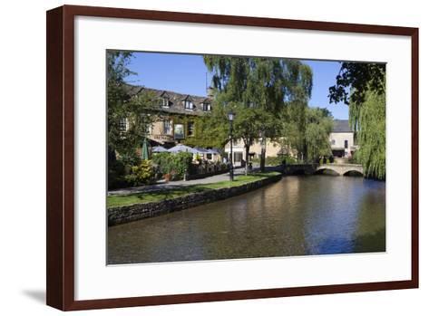 View Along the River Windrush-Stuart Black-Framed Art Print