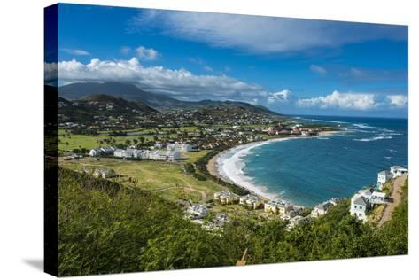View over North Frigate Bay on St. Kitts-Michael Runkel-Stretched Canvas Print