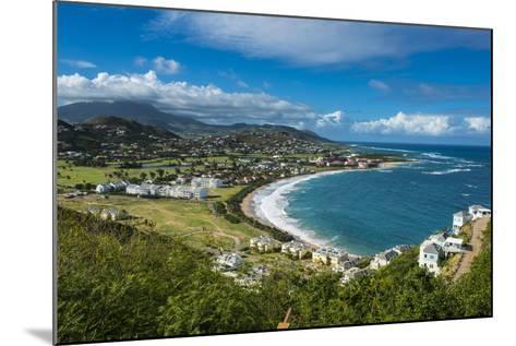 View over North Frigate Bay on St. Kitts-Michael Runkel-Mounted Photographic Print