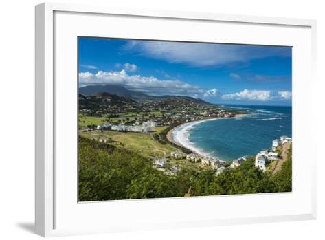 View over North Frigate Bay on St. Kitts-Michael Runkel-Framed Art Print