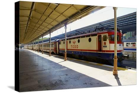 Sirkeci Gar (Central Railway) Railway Station Former Terminal Stop of the Orient Express-Simon Montgomery-Stretched Canvas Print