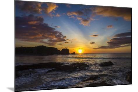 Sunset by the Southern Headland of Beautiful Playa Pelada Beach-Rob Francis-Mounted Photographic Print