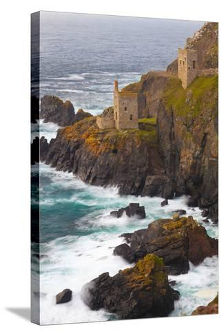 Abandoned Tin Mine Near Botallack-Miles Ertman-Stretched Canvas Print