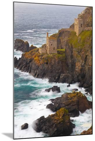 Abandoned Tin Mine Near Botallack-Miles Ertman-Mounted Photographic Print