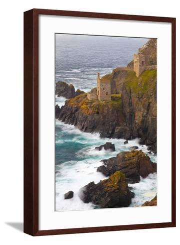 Abandoned Tin Mine Near Botallack-Miles Ertman-Framed Art Print