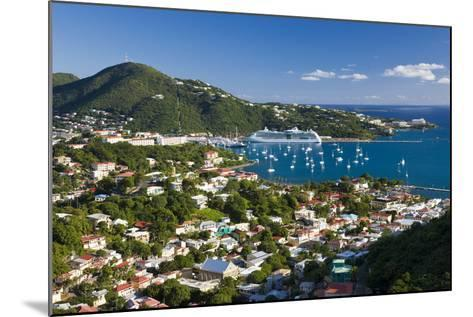 Elevated View over Charlotte Amalie-Gavin Hellier-Mounted Photographic Print