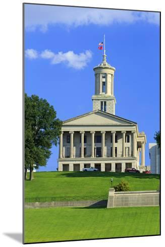 Bicentennial Capitol Mall State Park and Capitol Building-Richard Cummins-Mounted Photographic Print