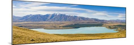 Lake Tekapo and Snow Capped Mountains-Matthew Williams-Ellis-Mounted Photographic Print