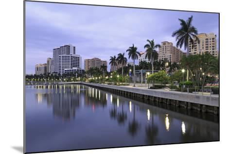 Skyline of West Palm Beach, Florida, United States of America, North America-Richard Cummins-Mounted Photographic Print