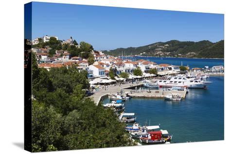 Harbour, Skiathos Town, Skiathos Island, Sporades Islands, Greek Islands, Greece, Europe-Stuart Black-Stretched Canvas Print