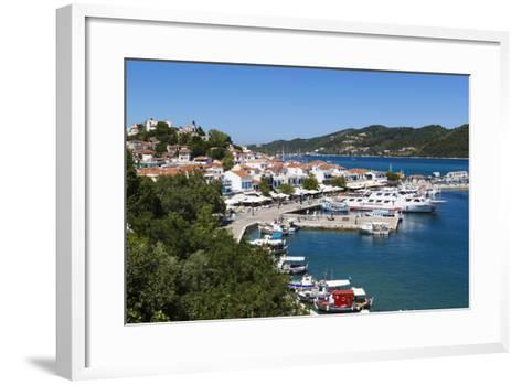 Harbour, Skiathos Town, Skiathos Island, Sporades Islands, Greek Islands, Greece, Europe-Stuart Black-Framed Art Print