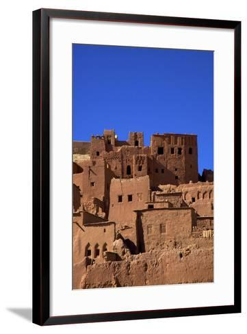 Ait-Benhaddou Kasbah, UNESCO World Heritage Site, Morocco, North Africa, Africa-Neil Farrin-Framed Art Print