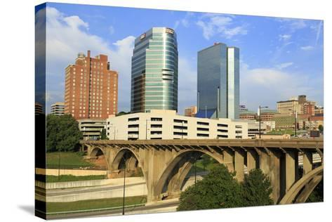 Downtown Skyline, Knoxville, Tennessee, United States of America, North America-Richard Cummins-Stretched Canvas Print