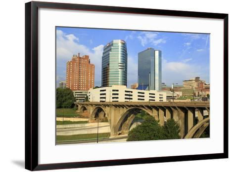 Downtown Skyline, Knoxville, Tennessee, United States of America, North America-Richard Cummins-Framed Art Print
