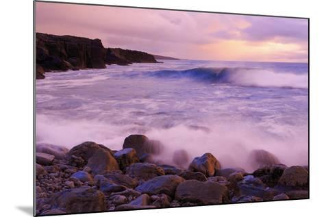 The Burren Coastline Near Doolin, County Clare, Munster, Republic of Ireland, Europe-Richard Cummins-Mounted Photographic Print