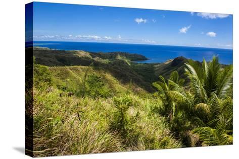 Outlook over Cetti River Valley in Guam, Us Territory, Central Pacific, Pacific-Michael Runkel-Stretched Canvas Print