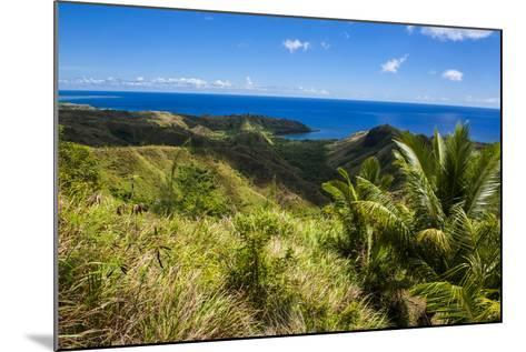 Outlook over Cetti River Valley in Guam, Us Territory, Central Pacific, Pacific-Michael Runkel-Mounted Photographic Print