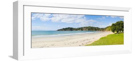 Oneroa Beach, Waiheke Island, Auckland, North Island, New Zealand, Pacific-Matthew Williams-Ellis-Framed Art Print