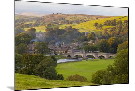 Burnsall, Yorkshire Dales National Park, Yorkshire, England, United Kingdom, Europe-Miles Ertman-Mounted Photographic Print