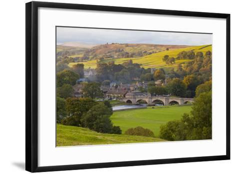 Burnsall, Yorkshire Dales National Park, Yorkshire, England, United Kingdom, Europe-Miles Ertman-Framed Art Print