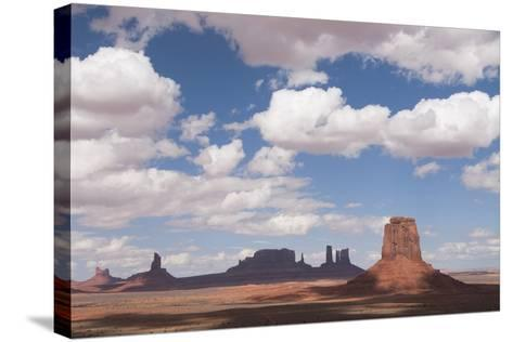 Monument Valley Navajo Tribal Park, Utah, United States of America, North America-Richard Maschmeyer-Stretched Canvas Print