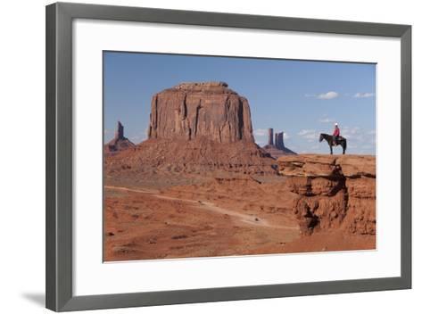 Monument Valley Navajo Tribal Park, Utah, United States of America, North America-Richard Maschmeyer-Framed Art Print