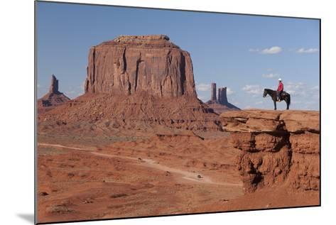 Monument Valley Navajo Tribal Park, Utah, United States of America, North America-Richard Maschmeyer-Mounted Photographic Print