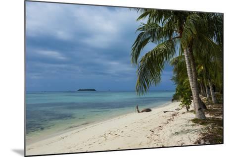Micro Beach on Garapan, Saipan, Northern Marianas, Central Pacific, Pacific-Michael Runkel-Mounted Photographic Print