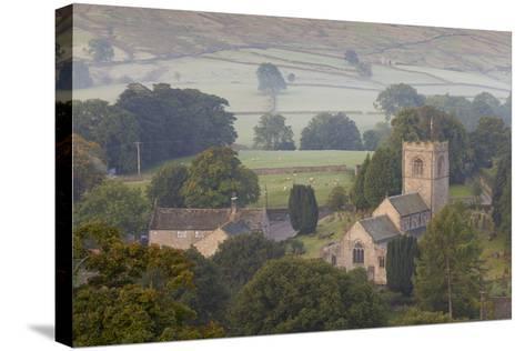 Church, Burnsall, Yorkshire Dales National Park, Yorkshire, England, United Kingdom, Europe-Miles Ertman-Stretched Canvas Print