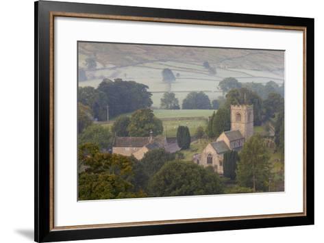 Church, Burnsall, Yorkshire Dales National Park, Yorkshire, England, United Kingdom, Europe-Miles Ertman-Framed Art Print